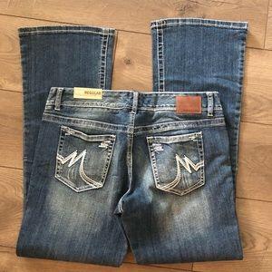 NWT Maurices original boot cut jeans sz 11/12